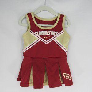 Nike FSU Seminoles Cheerleader Dress Girl's Sz 18M